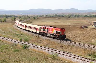 3) 2620 005 (92 00 2620 005-4 ex 001) passing Fushe Kosove Depot on 19th September 2015