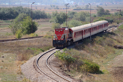 1) 2620 005 (92 00 2620 005-4 ex 001) passing Fushe Kosove Depot on 19th September 2015