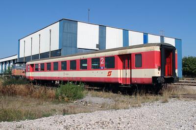OBB, 50 81 29 35 535-2 at Fushe Kosove Depot on 19th September 2015