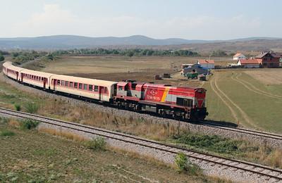 4) 2620 005 (92 00 2620 005-4 ex 001) passing Fushe Kosove Depot on 19th September 2015