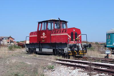 2760 001 (92 00 2760 001-3 ex MDD 3-01) at Fushe Kosove Depot on 19th September 2015 (2)