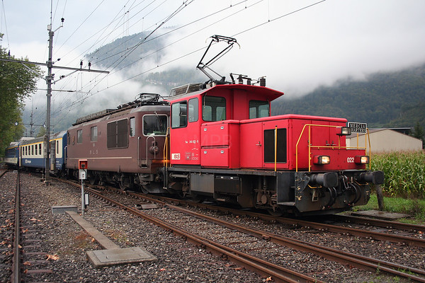 Mercia Charters  - The Rocks & Shoals Railtour (Switzerland)