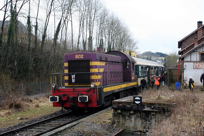 802 at Bissen on 25th March 2006 (2)
