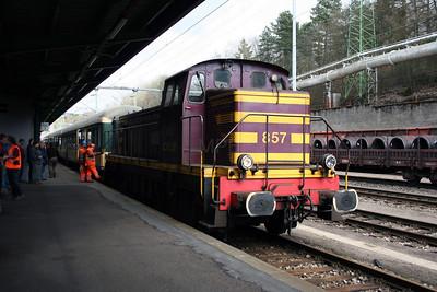 857 at Esch Sur Alzette on 25th March 2006