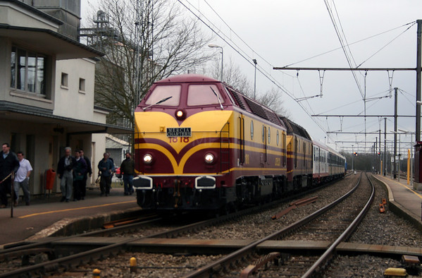 Mercia Charters - The State of Flux Railtour (Luxembourg)