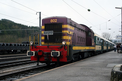 802 at Ettelbruck on 25th March 2006 (1)