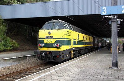 5507 at Genk on 5th September 2009