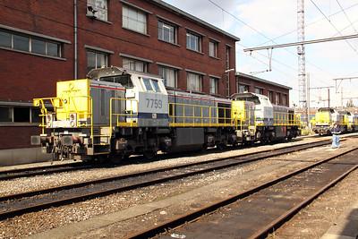 1) 7759 at Kinkempois Depot on 5th September 2009