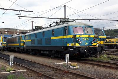 1) 2309 at Kinkempois Depot on 5th September 2009