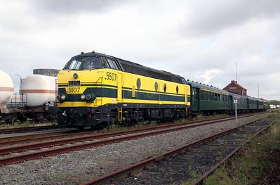1) 5507 at Tessenderlo on 5th September 2009