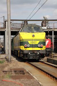 5507 at Kinkempois Depot on 5th September 2009