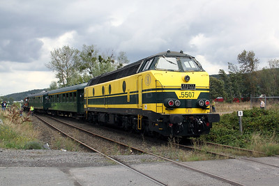 3) 5507 at Zoning d`Engis on 5th September 2009