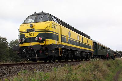 1) 5507 between Diest & Tessenderlo on 5th September 2009