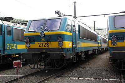 2728 at Kinkempois Depot on 5th September 2009
