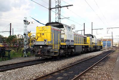7761 at Kinkempois Depot on 5th September 2009