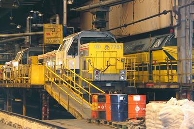 7751 at Kinkempois Depot on 5th September 2009