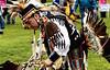 BOB RAINES--DIGITAL FIRST MEDIA // <br /> William Two Hawk Smith dances at the PowWow on Manatawny Creek, Pottstown May 7, 2016. His ancestry is Choctaw, Occaneechi, and Lakota.