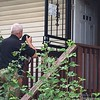 Pottstown police investigate a home on the 400 block of Lincoln Avenue in Pottstown after a shooting incident involving a father and son. (Eric Devlin/Digital First Media)
