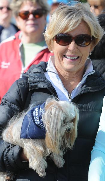 John Strickler - Digital First Media<br /> JoAnn McKiernan founder of American Cancer Society's Bark for Life returned to Pottstown for the 10th anniversary bark held in Pottstown.