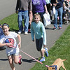 John Strickler - Digital First Media<br /> Merideth Oister and Joy Colliluori led their pup Skylar as they make their way around the Bark for Life walk at Memorial Park Saturday. This was the 10th anniversary of the walk.