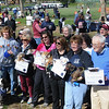John Strickler - Digital First Media<br /> Some of the original Bark for Life organizers were honored at the 10th anniversary Bark for Life of Pottstown at Memorial Park Saturday.