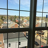In order to maintain a high energy efficiency rating, developers has to choose between leaving the open brick or keeping the windows. They chose the windows, which are also high-efficiency and offer views of the greater Pottstown area, at least on the fourth floor.
