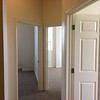 The three doors of a three-bedroom unit on the fourth floor of Beech Street Factory.  There are only seven three-bedroom units in the project.