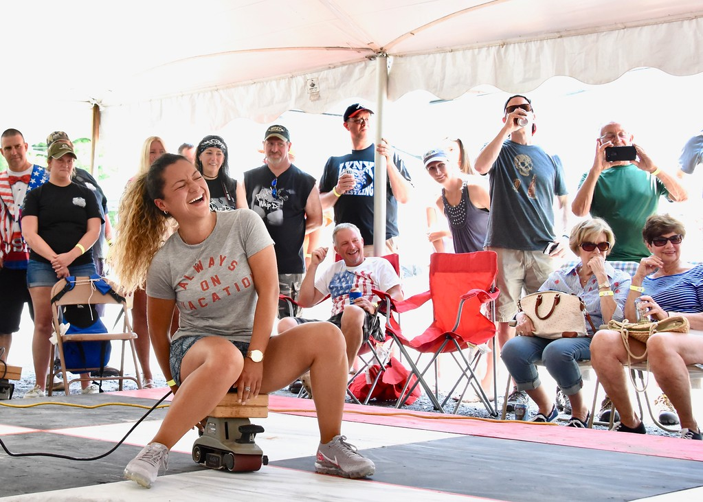 . Jesi Yost - Digital First Media  The 28th Annual Belt Sander Race to benefit The Multiple Sclerosis Society was held at the Bertie�s Inn on July 14.