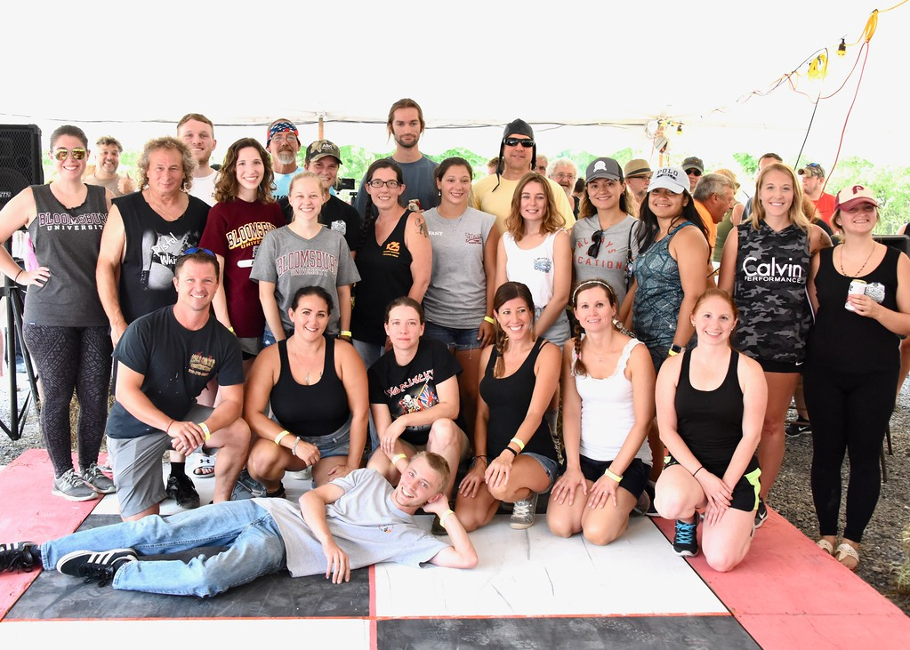. Jesi Yost - Digital First Media  Sponsored teams competed in Bertie�s Inn, 28th Annual Belt Sander Race to benefit The Multiple Sclerosis Society.