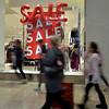 Shoppers set a brisk pace at Montgomery Mall on Black Friday Nov. 24, 2017. (Bob Raines--Digital First Media)
