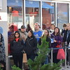 Shoppers waited in line outside Kate Spade at the Philadelphia Premium Outlets in Limerick Friday for the once a year deals.<br /> Marian Dennis -- Digital First Media