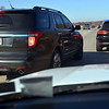 (Bob Raines--Digital First Media)<br /> Drivers push into the right lane and pass on the shoulder on westbound 422 Expressway to get to the Sanatoga exit ramp on their way to the Philadelphia Premium Outlets  Nov. 24, 2017. (Bob Raines--Digital First Media)
