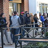 Long lines like the one at Tory Burch at the Philadelphia Premium Outlets in Limerick could be seen Friday as shoppers showed up to get their yearly deals.<br /> Marian Dennis -- Digital First Media