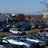 Parking spaces at the Philadelphia Premium Outlets were starting to fill up Friday morning as shoppers rushed to kick-start their holiday shopping.<br /> Marian Dennis -- Digital First Media