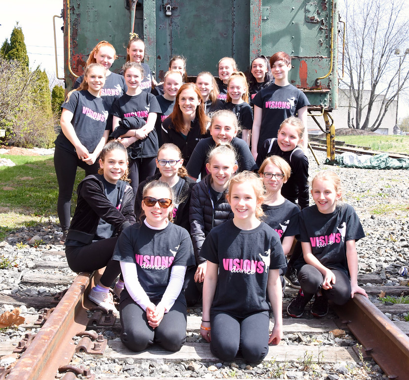 . Jesi Yost � For Digital First Media Twenty-two students of Vision Dance in Boyertown, ages 9-18, performed together and separately during Boyertown�s Coming Out of Hibernation celebration on Saturday.