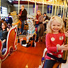 5 year old Avalon Walter from West Lawn enjoys her ride on the Carousel at Pottstown....Photo/Tom Kelly III