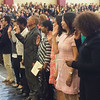 Evan Brandt -- Digital First Media<br /> More than 50 people take the loyalty oath and so became new citizens of the United States Monday at Pottsgrove High School.