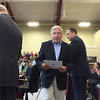 Evan Brandt -- Digital First Media<br /> Smiles abounded during Monday's ceremony as 54 new American citizens were presented with their citizenship papers.