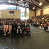 Evan Brandt -- Digital First Media<br /> A panoramic view of the packed gymnasium of Pottsgrove High School for Monday's Naturalization Ceremony.