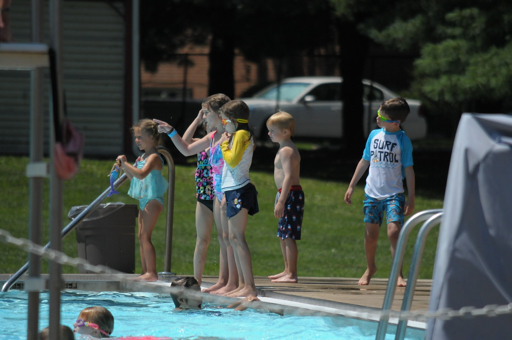 . Families enjoy the pool at North End Swim Club in Pottstown August 1, 2017. Gene Walsh � Digital First Media