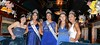 Angelina Olvera, center, representing Pottstown High School, was crowned the 2017 Independence Day LTD Queen during a ceremony on the Colbrookdale Railroad. From l-r, Homecoming queens from other area high schools are Mary Grace Fedoris of Owen J. Roberts; 2016 Queen MarDaije Pearson of Pottstown; Olvera; Natalie Wynne of Boyertown and Jazlynn Carter of Pottsgrove. --Tom Kelly, Digital First Media