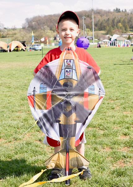 "Jesi Yost - Digital First Media <br /> Christian Ruhl, 6, attends Go Fly a Kite Day every year with his Nana and PopPop. ""We love Fly a Kite Day!"""
