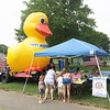 Evan Brandt — Digital First Media<br /> A Pottstown Fourth of July classic, some people wait until the last minute to buy their tickets to the Rotary Club Duck Race, held in Manatawny Creek.