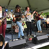 "Evan Brandt — Digital First Media<br /> Chestnut Grove, seen here performing the Joe Cocker classic ""My Baby Wrote Me a Letter,"" was just one of five bands that performed Wednesday at Pottstown's GoFourth Festival in Memorial Park."