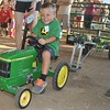 Tyler Taney on the child Pedal Tractor Pull at the Kimberton Fair. Photos by Barry Taglieber for Digital First Media