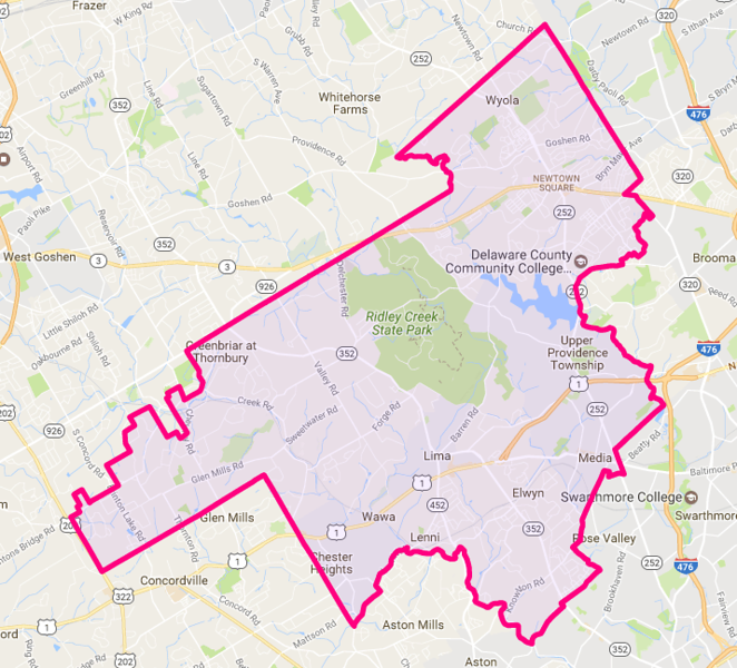 . Delco House District 168