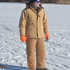 "PETE BANNAN -DIGITAL FIRST MEDIA     John  Young ice fishes at Marsh Creek State Park Tuesday.  ""I haven't caught anything, you should talk to John, he has three,"" joked Matthew who now lives in Emanus. "" It's nice being out. The ice can vary the best is clean black ice four inches thick.  This ice is about 4-5 inches thick."""