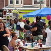 Washington and Chestnut streets in Pottstown were packed with people who showed up to enjoy food, games and more during the National Night Out event. <br /> Marian Dennis -- Digital First Media