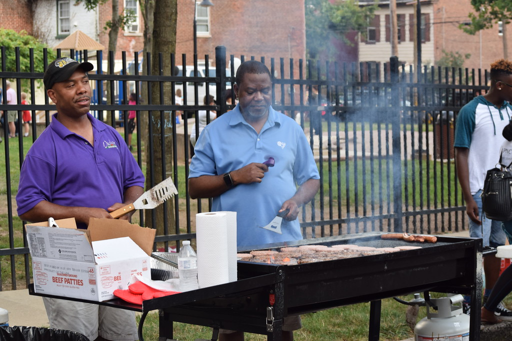 . Food, games and music were enjoyed Tuesday evening during the annual National Night Out event held in Pottstown on Washington and Chestnut streets. Marian Dennis -- Digital First Media