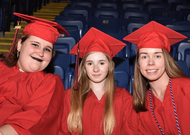 Photo by Jesi Yost<br /> Cat  McMann,  Helena  McNamee,  and  Abbey  Mefferd